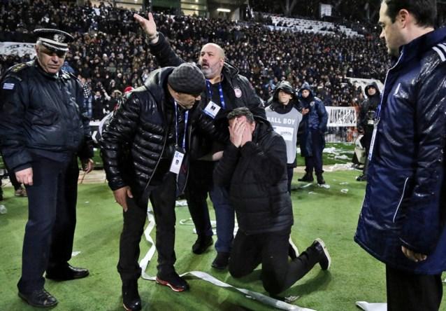 Olympiakos-Belgen recupereren drie punten na incident met wc-rol bij PAOK
