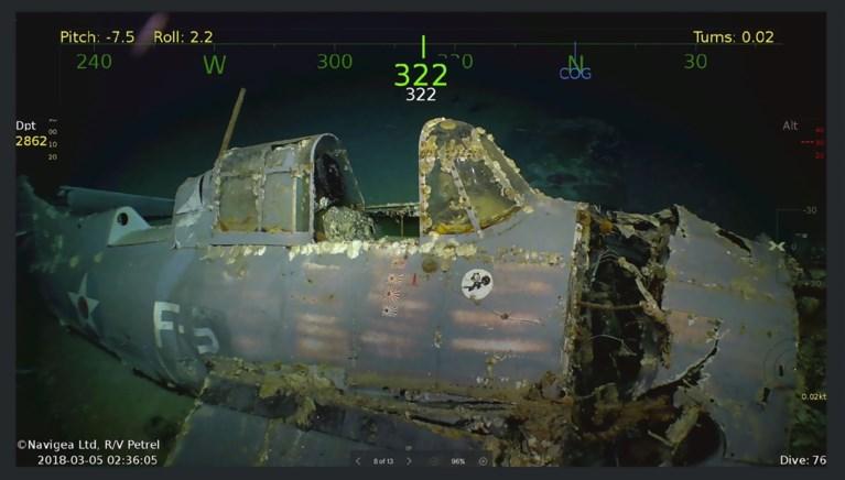 76 jaar later: miljardair vindt legendarisch oorlogsschip op bodem van de zee