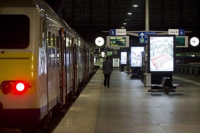 Treinen afgelopen jaren steeds minder vol