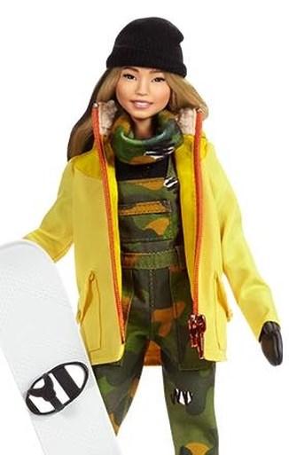 Olympisch kampioene krijgt eigen Barbie naar aanleiding van Internationale Vrouwendag