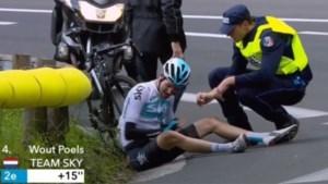 Zwaar verdict voor Poels en Geschke: sleutelbeenbreuk na valpartijen in Tirreno en Parijs-Nice