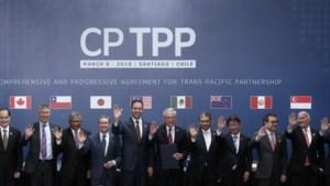 Elf landen sluiten handelsakkoord zonder VS