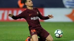 Barcelona wint ook zonder Messi makkelijk van Lestienne, Coutinho steelt de show