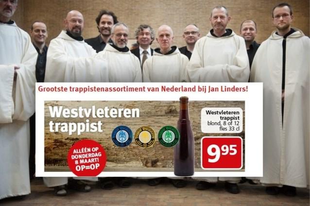 """Broeders boos om stuntverkoop Westvleteren in supermarkt: """"Ze moeten met 150 auto's gekomen zijn"""""""