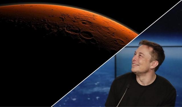 """Elon Musk plant eerste Marsvlucht voor volgend jaar: """"Planeet koloniseren om mensheid te redden van WO III"""""""