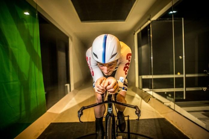 Gejaagd door de windtunnel: een hele dag tegenwind voor Europees kampioen tijdrijden Campenaerts