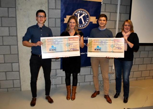 Kiwanis Young Professionals schenkt 850 euro aan goede doelen