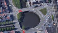 Dampoort krijgt twee nieuwe verkeerslichten... pal op de rotonde