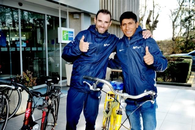 """Quintana en Valverde in Dwars door Vlaanderen: """"Van Avermaet volgen? Da's onmogelijk"""""""