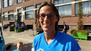 Tia Hellebaut en Tomas Van Den Spiegel basketten voor Special Olympics Belgium
