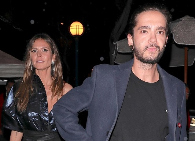 Heidi Klum slaat Tokio Hotel-gitarist aan de haak