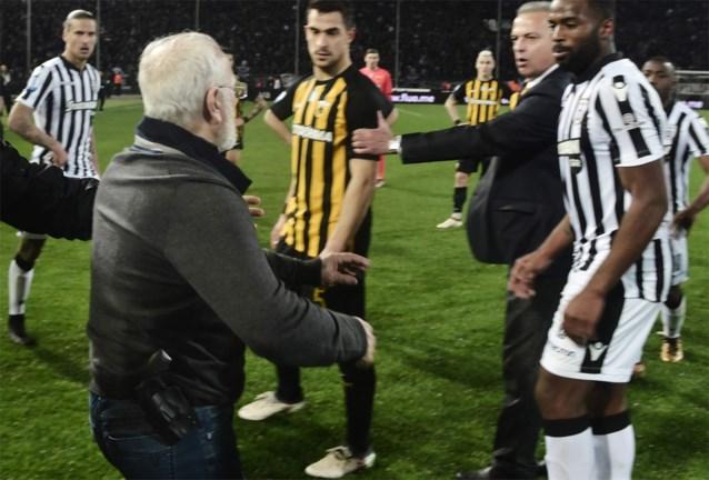 Gewapende PAOK-voorzitter krijgt drie jaar stadionverbod en fikse boete