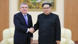 """Kim Jong-un bedankt IOC-voorzitter voor bijdrage aan """"ontdooien"""" van Koreaans conflict"""