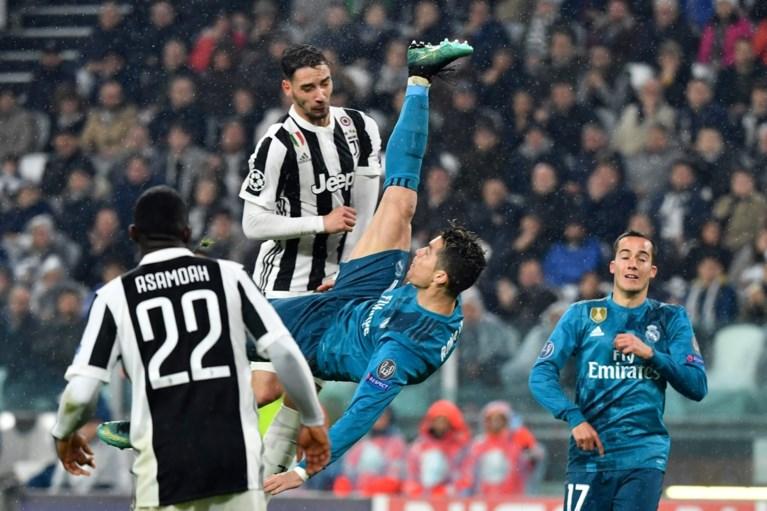 Demonstratie in Turijn: Ronaldo krijgt alle handen op mekaar met waanzinnige omhaal
