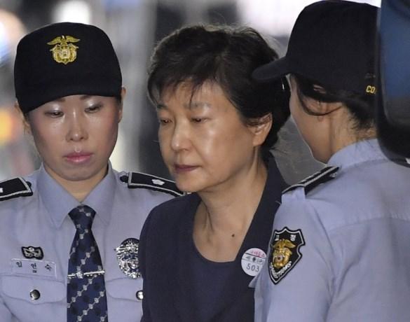 Gewezen Zuid-Koreaanse president Park Geun-hye veroordeeld voor machtsmisbruik