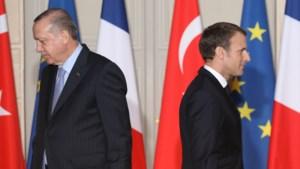 """Erdogan haalt uit naar Macron na incident in Münster: """"Dit zal ook in Frankrijk gebeuren"""""""