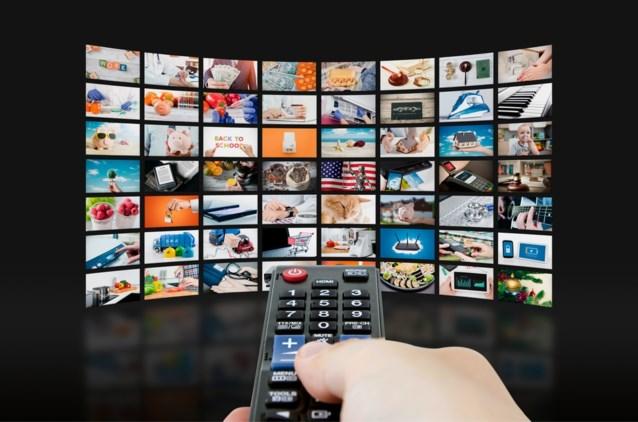 Zo lang kijkt de Vlaming gemiddeld per dag naar televisie