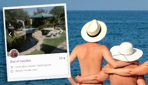 Hartje New York of de Finse bergen: naturisten hebben nu ook hun eigen Airbnb