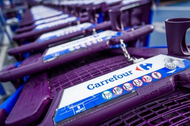 Carrefour ziet kwartaalomzet in België dalen