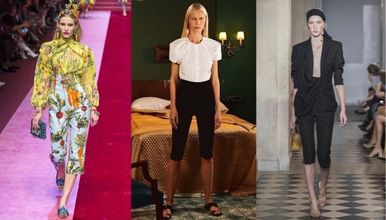 Sorry Jani, de driekwartbroek mag weer van Vogue
