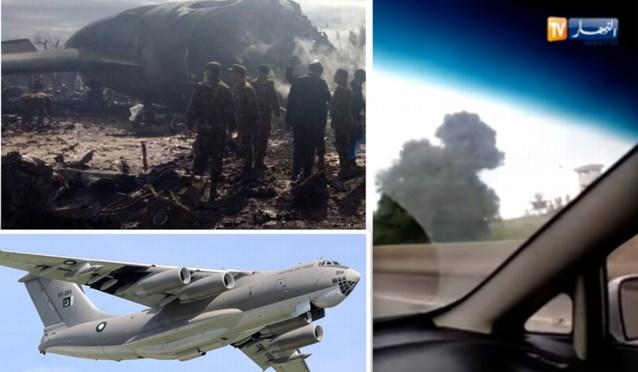 Militair vliegtuig stort neer in Algerije: 257 doden