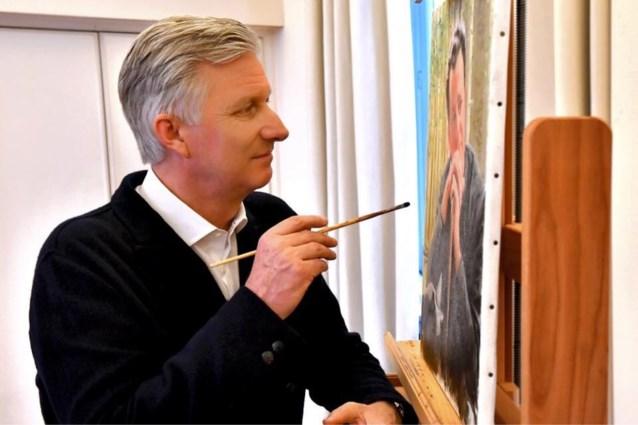 Koning Filip viert verjaardag met schilderij (dat tentoongesteld zal worden)