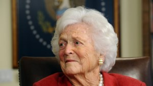 Voormalige first lady Barbara Bush overleden
