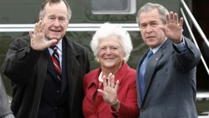 PORTRET. Barbara Bush (92), de  grootmoeder van de natie en een voorbeeld voor haar opvolgsters