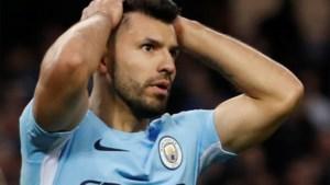 Agüero mist seizoenseinde met City, maar moet niet vrezen voor WK