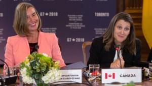 EU en Canada organiseren top met alle vrouwelijke buitenlandministers