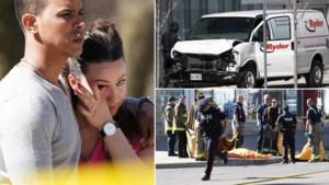 Man rijdt met bestelwagen 10 voetgangers dood in Toronto: dit weten we al