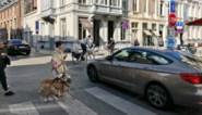 Fietser aangereden in fietsstraat:
