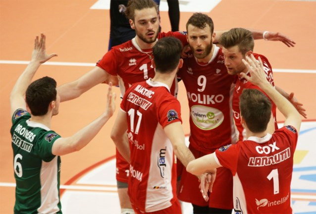 Maaseik zet grote stap richting titel in EuroMillions Volley League