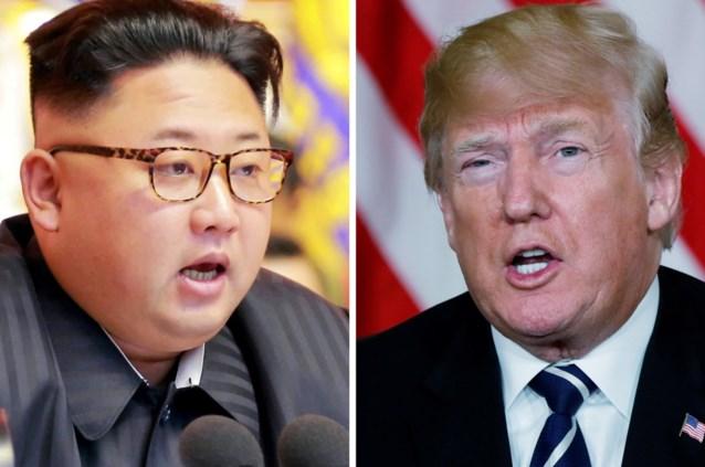 """Trump heeft """"drie of vier"""" data in gedachten voor ontmoeting met Kim Jong-un"""