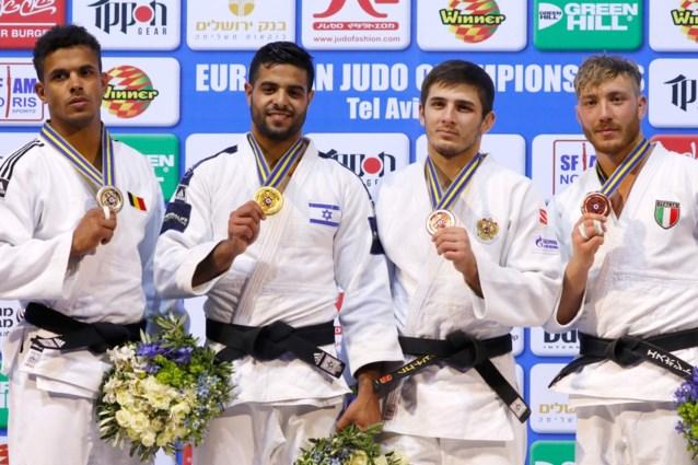 Sami Chouchi grijpt op het EK Judo naast het goud in klasse tot 81 kg