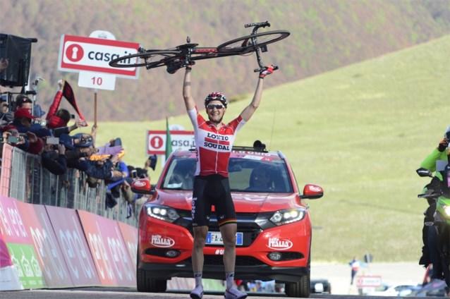 Als dat maar goed komt: dertien Belgen naar de Giro