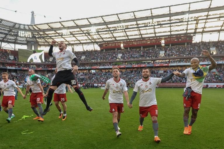 Lokomotiv Moskou kroont zich na 14 jaar opnieuw tot Russisch landskampioen