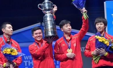 China klopt Duitsland en wint WK tafeltennis voor teams voor de 21e keer, Belgen kunnen niet stunten