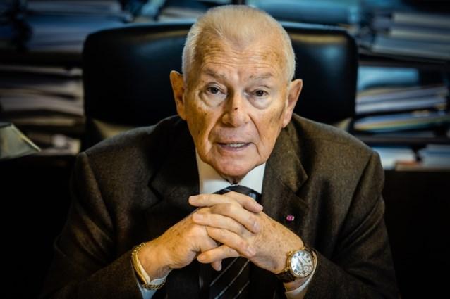 Mister Michel Verschueren lijstduwer Open VLD, maar hij sprak wel voor zijn beurt