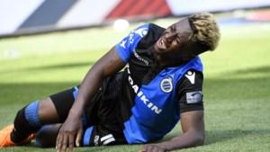 Nieuwe tegenslag Club Brugge: geplaagde leider moet het nu ook zonder zijn topspits doen