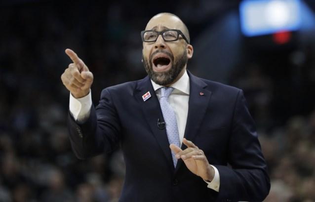 Stoelendans bij de NBA-coaches: NY Knicks halen nieuwe coach, Detroit neemt afscheid van Van Gundy