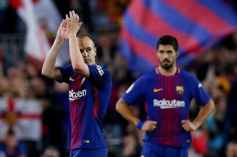 Opschudding in Spanje: Atlético haalt uit naar Barcelona (en naar waar trekt Iniesta nu?)