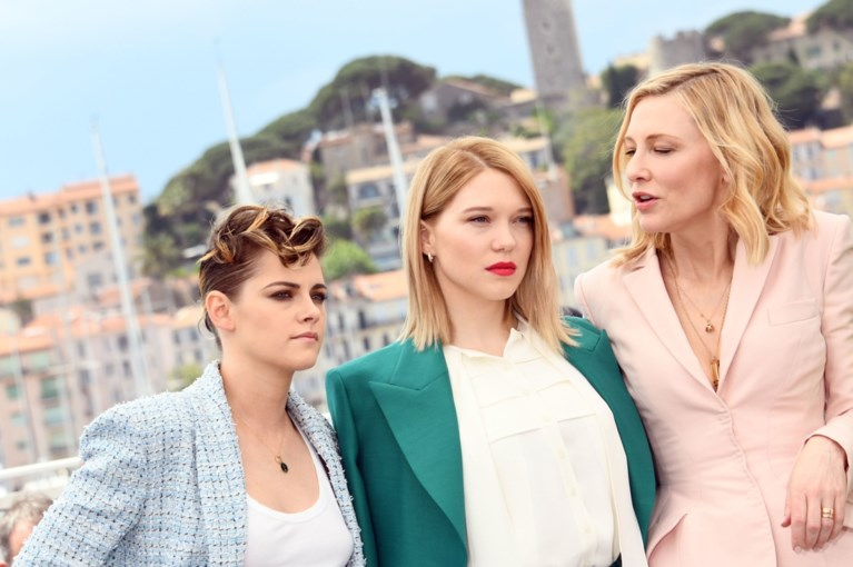 Trend in Cannes: actrices strak in het pak