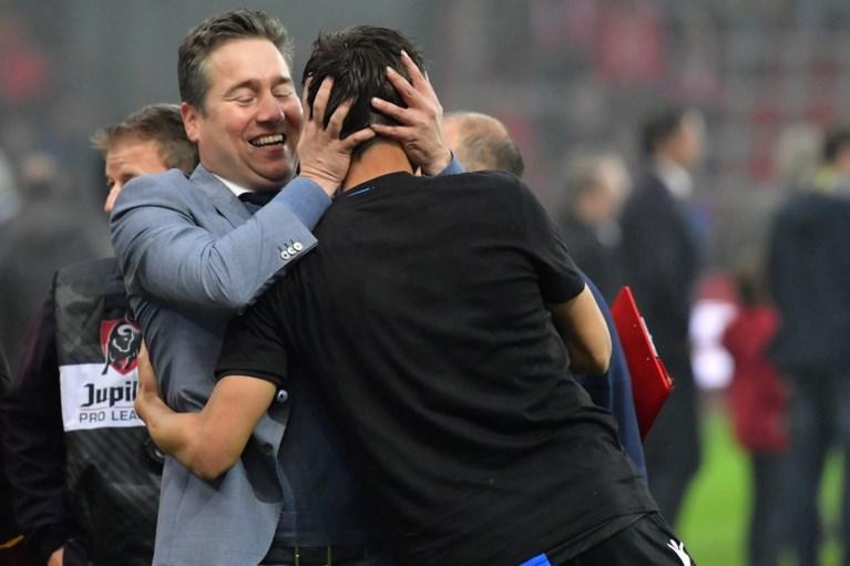 """Club-voorzitter Bart Verhaeghe triomfeert, ondanks VAR en play-offs: """"Al drie jaar de beste ploeg van het land"""""""