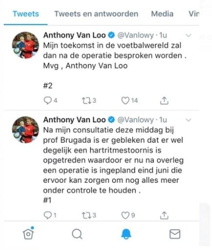 Speler KV Kortrijk met hartproblemen ondergaat straks nieuwe operatie