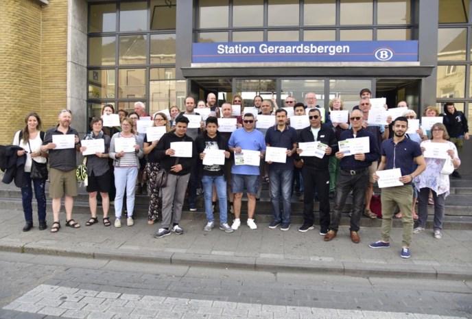 Geraardsbergenaars tonen  zich solidair met Palestijnen