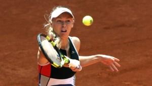 Alison Van Uytvanck in tweede ronde in Rome niet voorbij Caroline Wozniacki