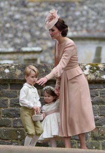 Prins George en prinses Charlotte worden bruidskindjes op huwelijk Harry en Meghan