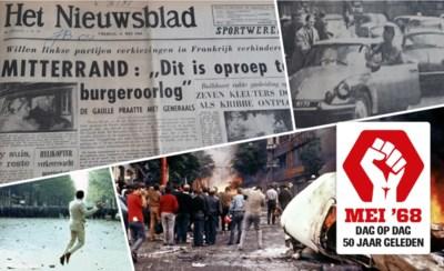De laatste krant van mei '68: Parijzenaars smeken Nieuwsblad-reporter om hulp