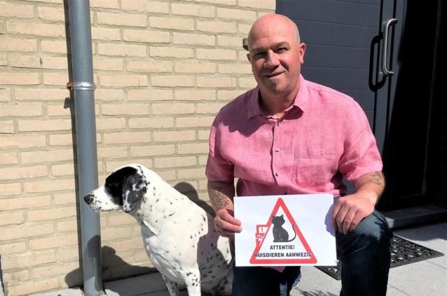 'SOS Huisdieren'-sticker te verkrijgen op pinkstermarkt